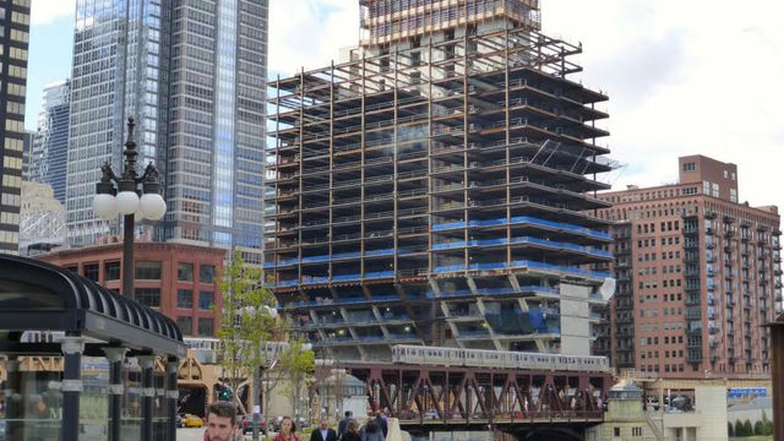 The New 150 North Riverside Continues To Climb Skyward