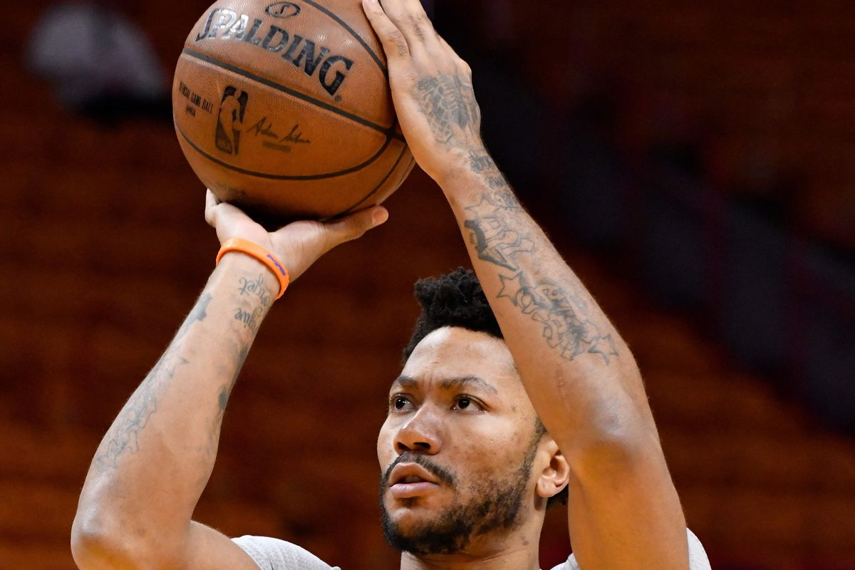 Knicks' Derrick Rose out for rest of season with knee injury