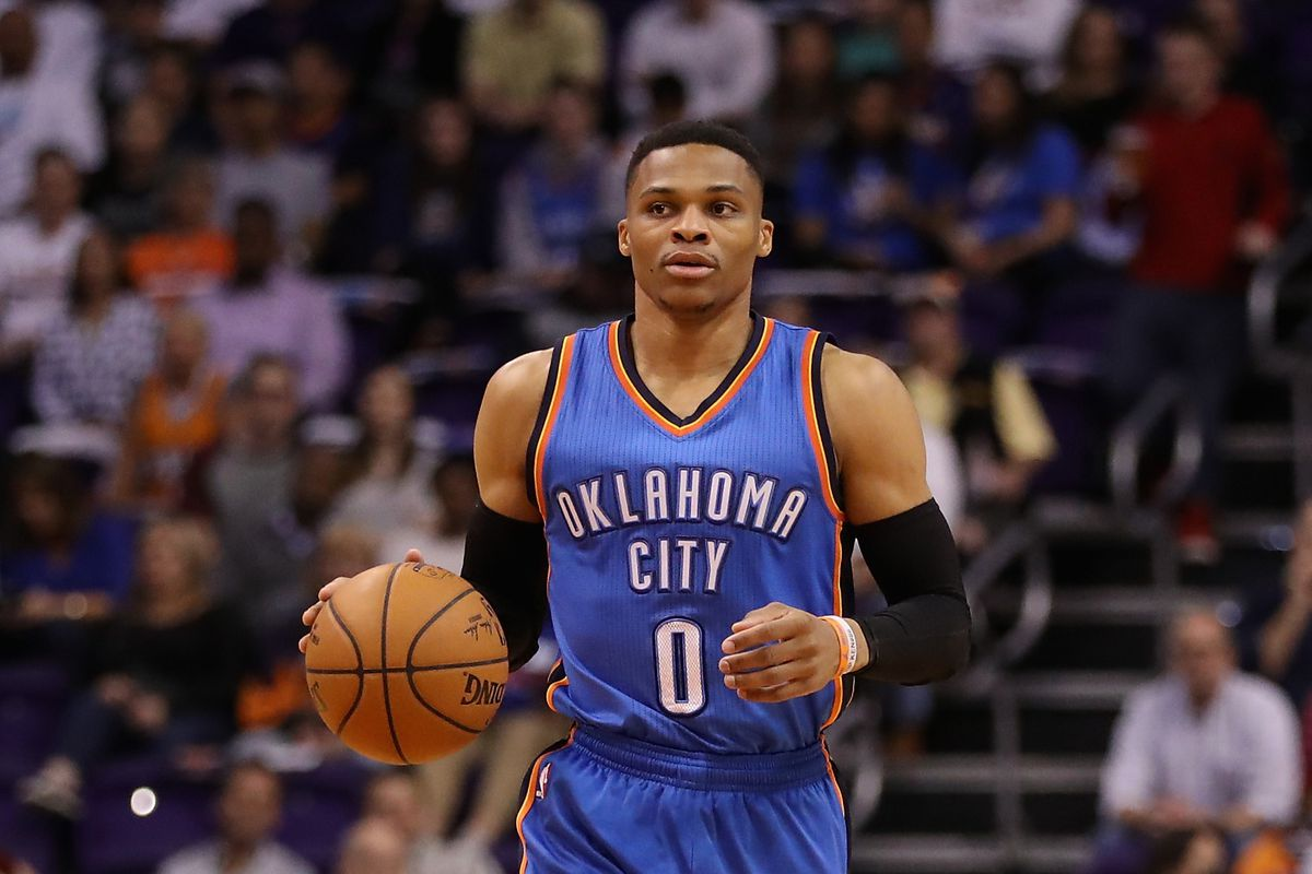 Russell Westbrook Thunder's guard eyes history, but Spurs get win