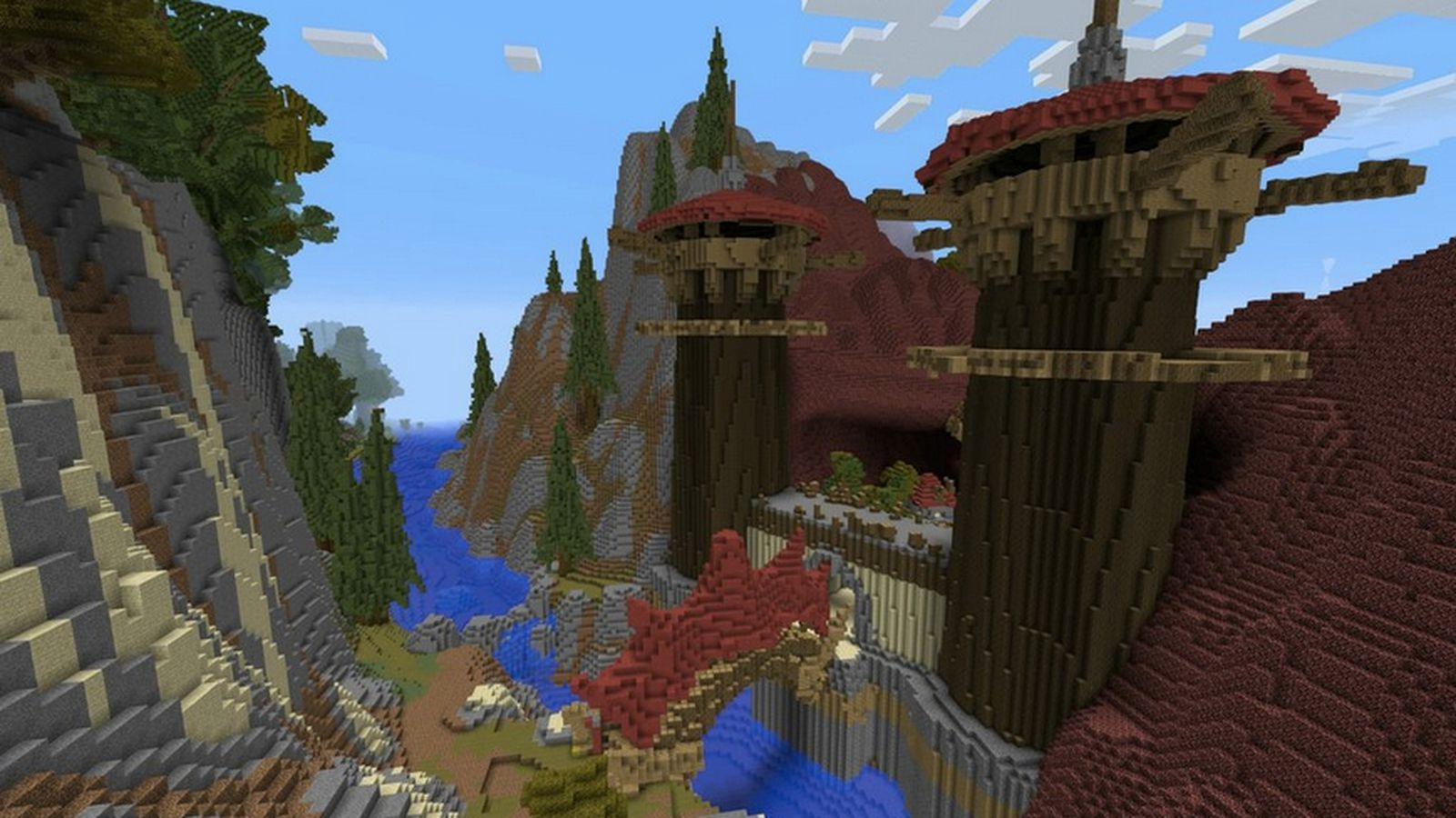 Crafting Azeroth project brings World of Warcraft to Minecraft – Map World of Warcraft Minecraft