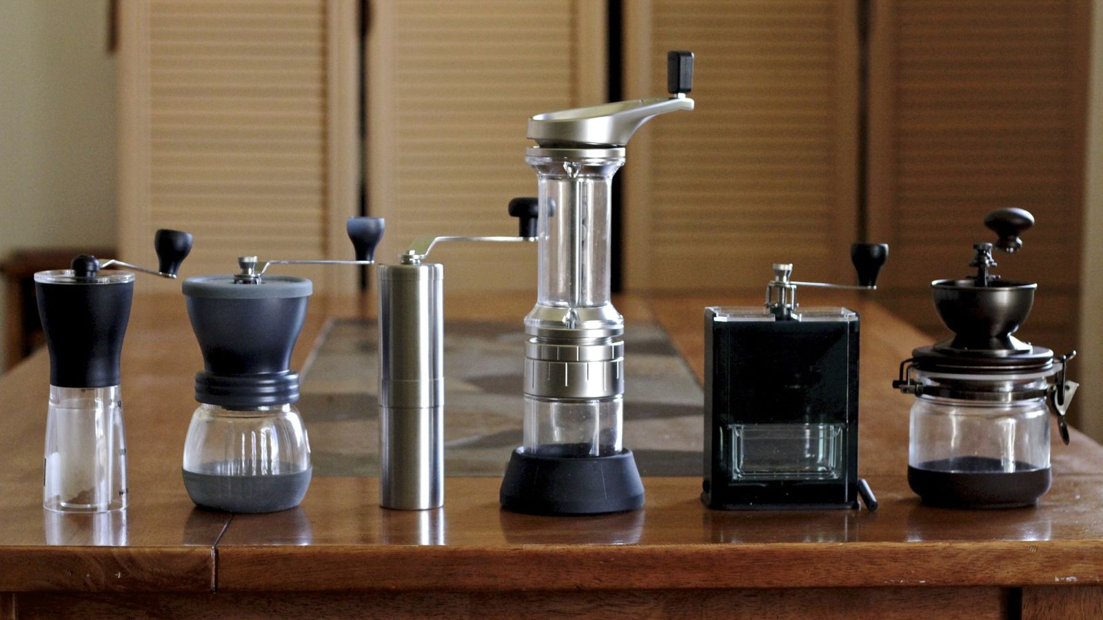 High End Coffee Maker Reviews 2015 : Gadget Review: Six of the Best Hand Coffee Grinders - Eater