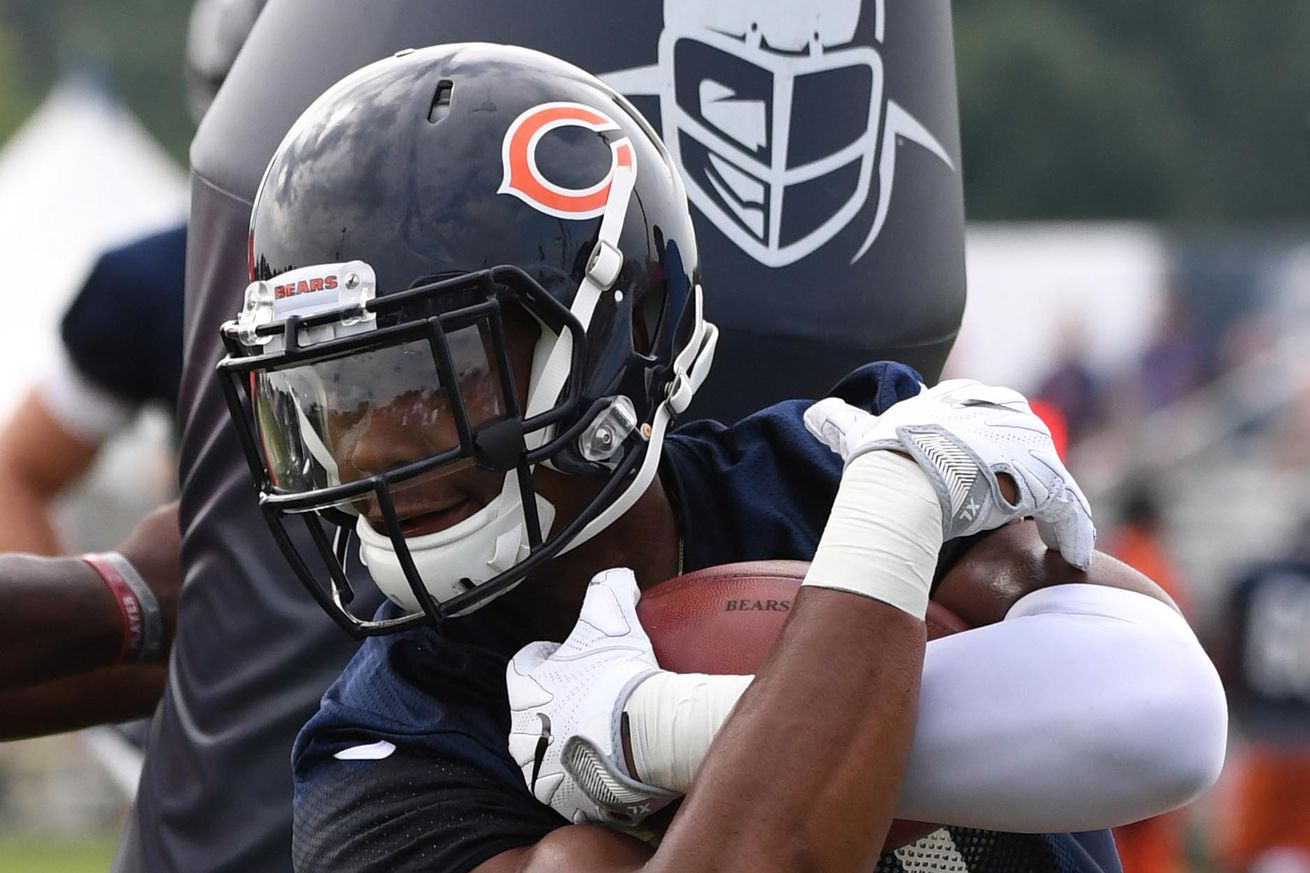 NFL Jerseys Official - Chicago Bears Training Camp Recap: Top 5 receivers all sidelined ...