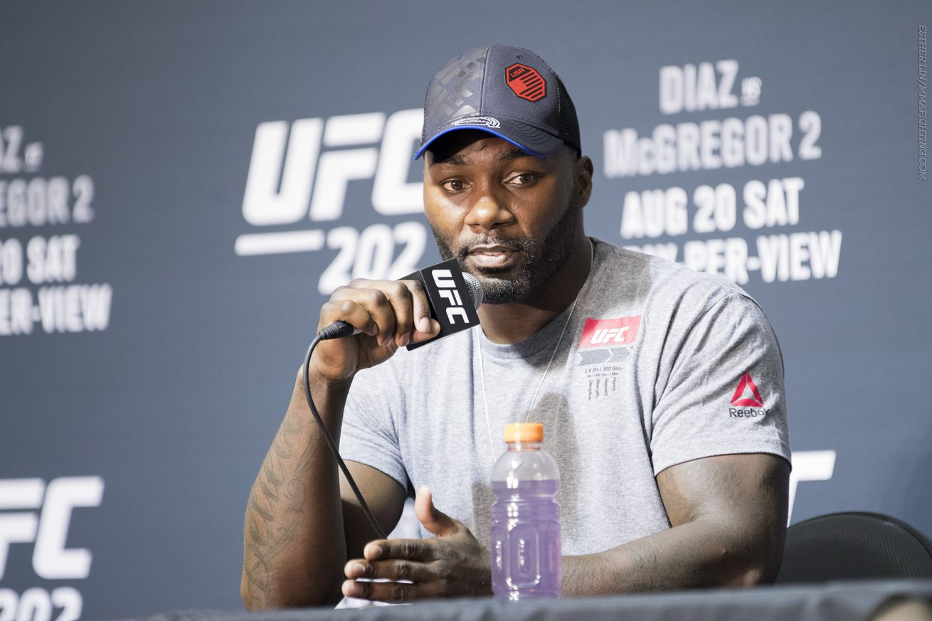 community news, Anthony Johnson: Daniel Cormier can say all he wants, but 'he knows what's coming'