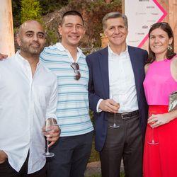 From left, Ali Rana (Snapchat), Steve Hwang (Snapchat), Marc Pritchard (Procter & Gamble), Jodie Stocker (Snapchat)