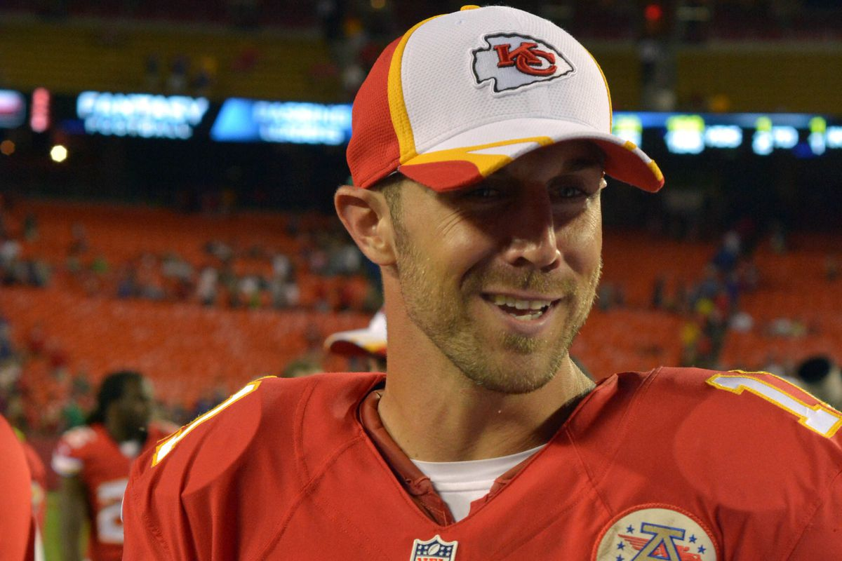 alex smith kansas city chiefs agree to year million denny medley usa today sports