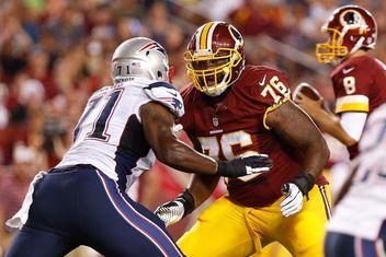 cheap Washington Redskins Morgan Moses Jerseys