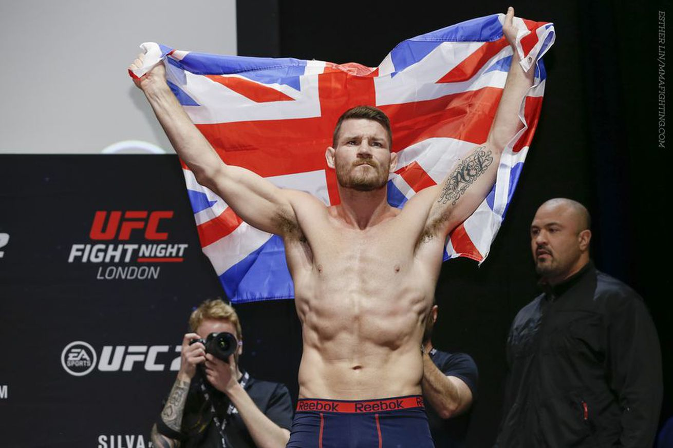A veteran of 27 UFC fights, Michael Bisping says he's 'never had a $1 million payday'