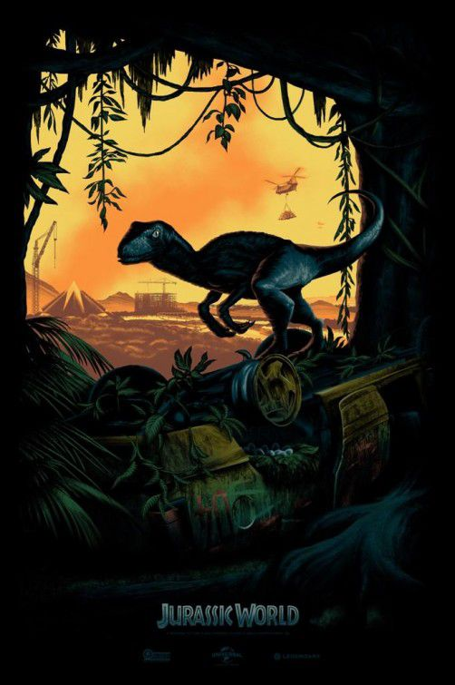 Jurassic World Comic Con Poster