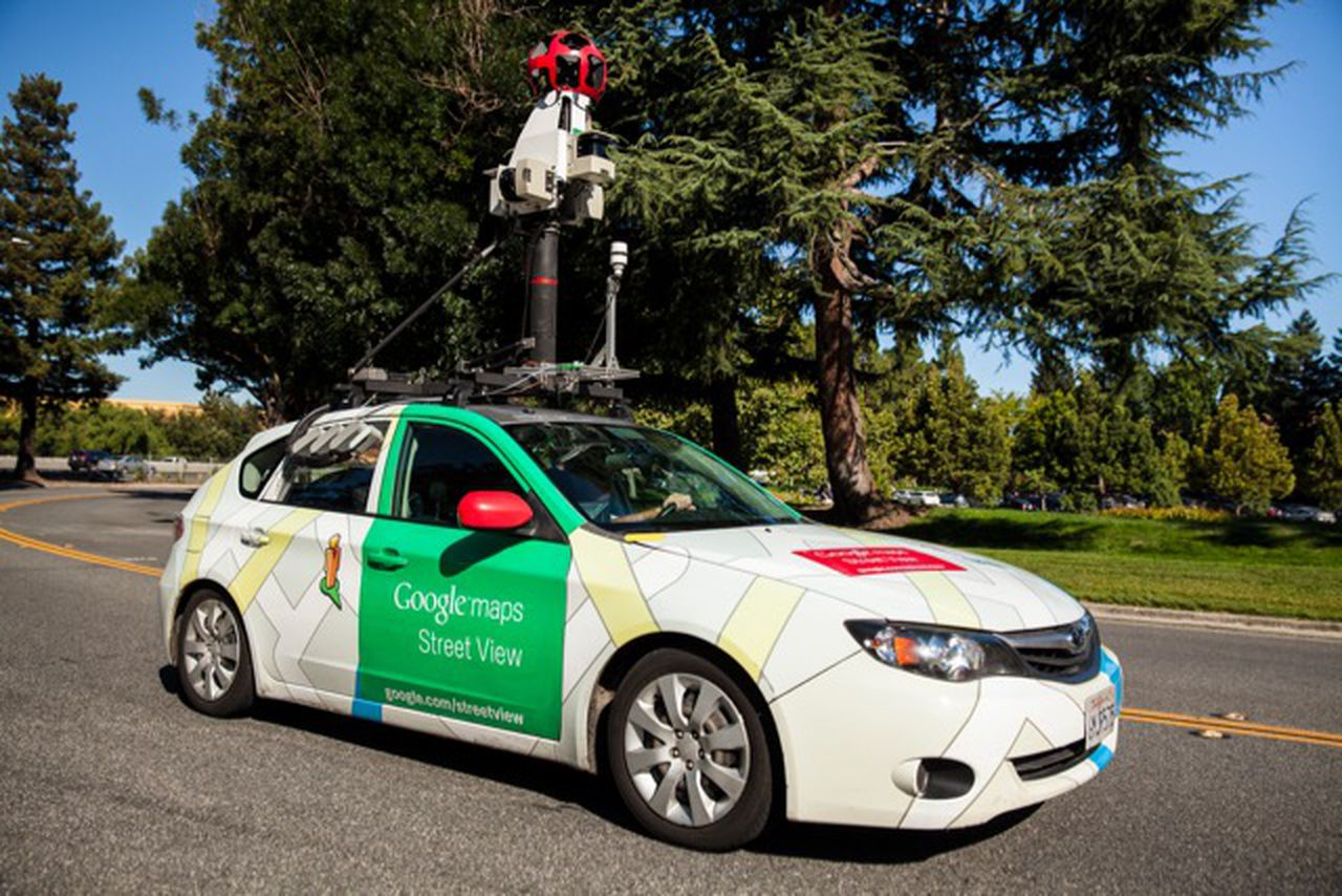 google brings its air mapping street view cars to. Black Bedroom Furniture Sets. Home Design Ideas