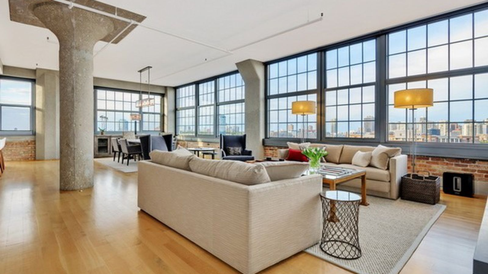 Incredible Industrial Loft Offers Equally Incredible