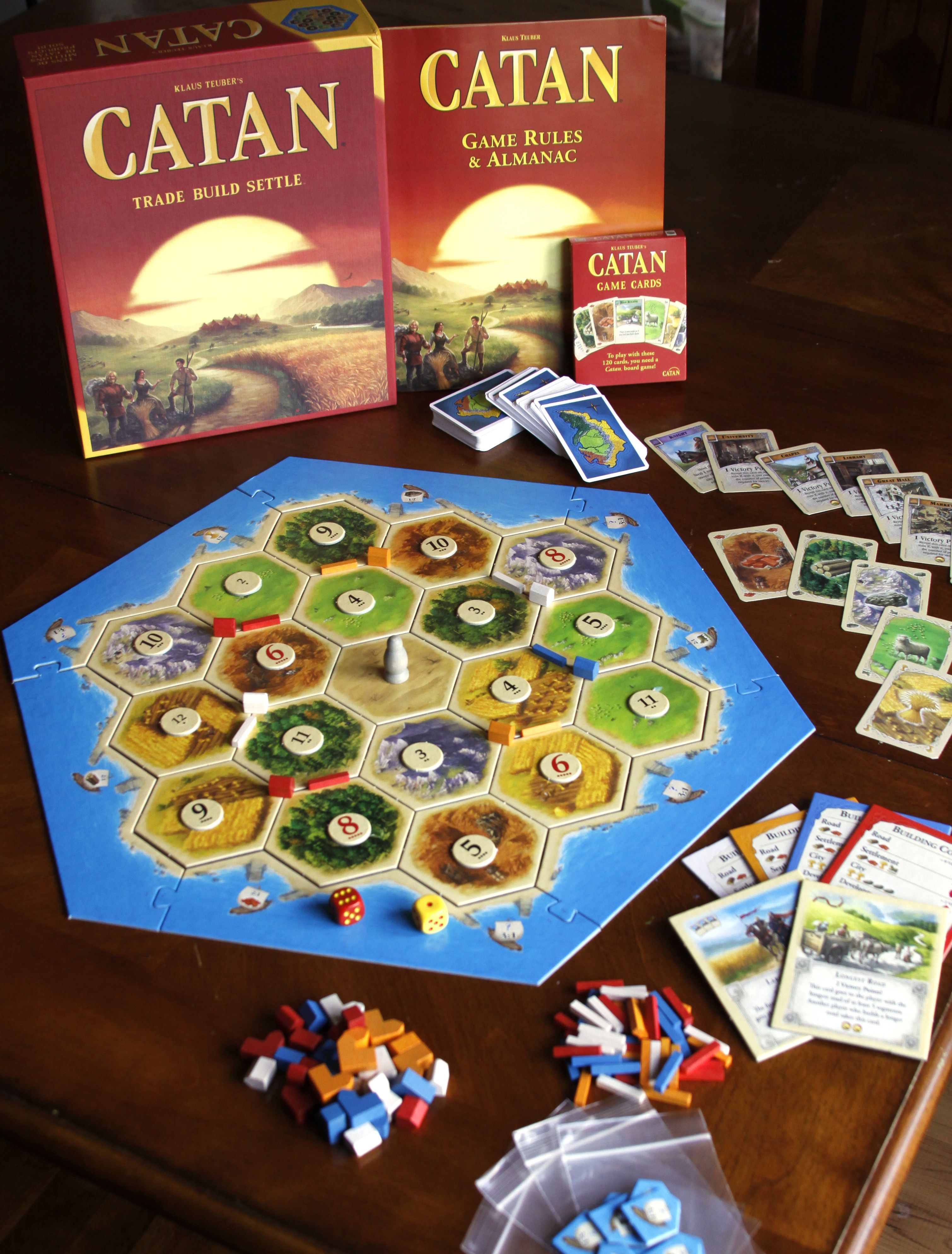 The Settlers of Catan has a new name, new look for 5th edition