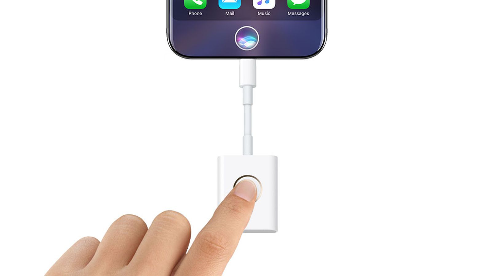 You'll Know Apple Blew it When it Makes a Fingerprint Dongle