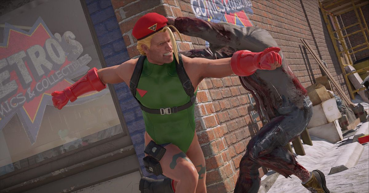 Dead Rising 4's new Capcom Heroes mode looks wild