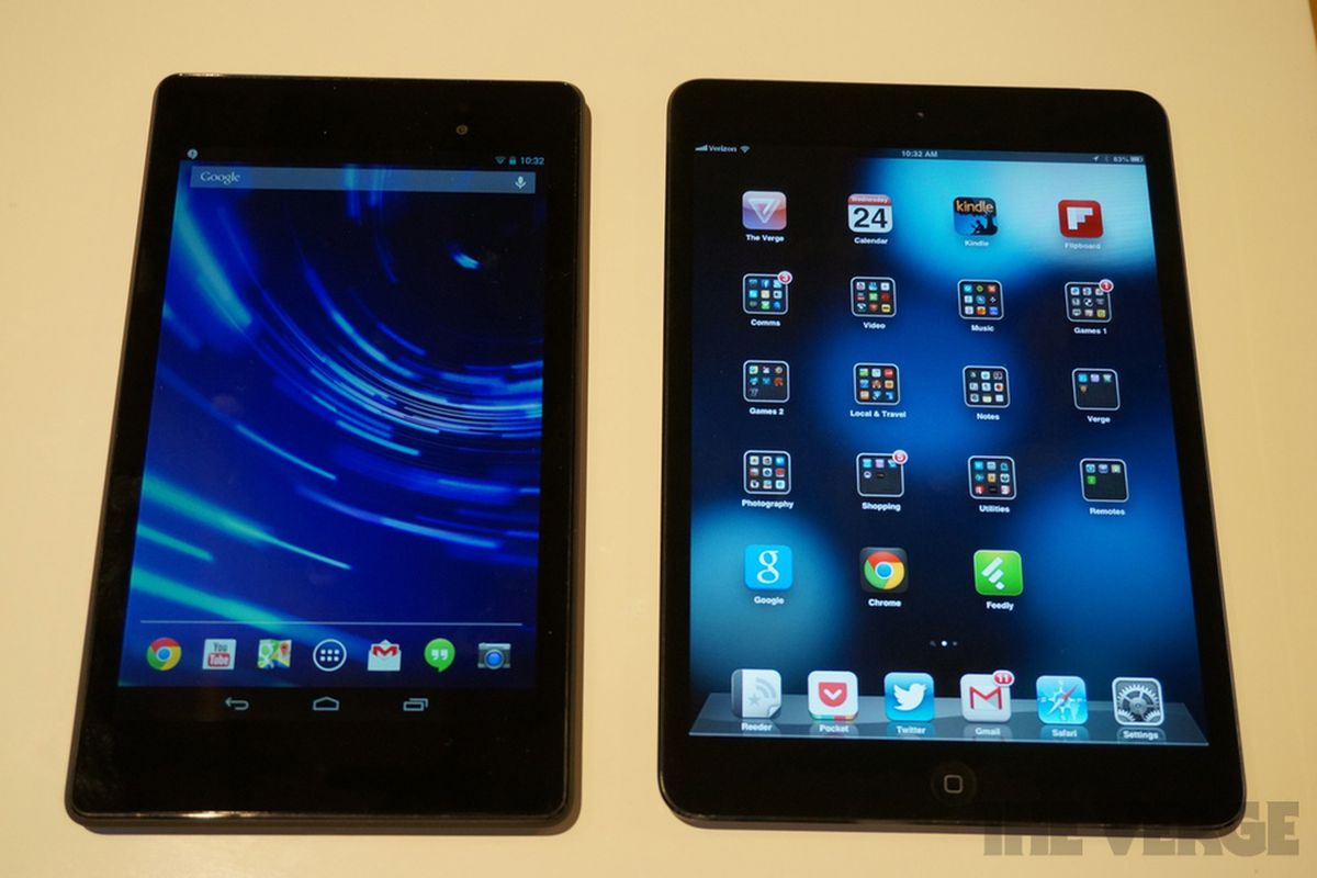 New Nexus 7: how Google's latest compares to iPad mini and ...