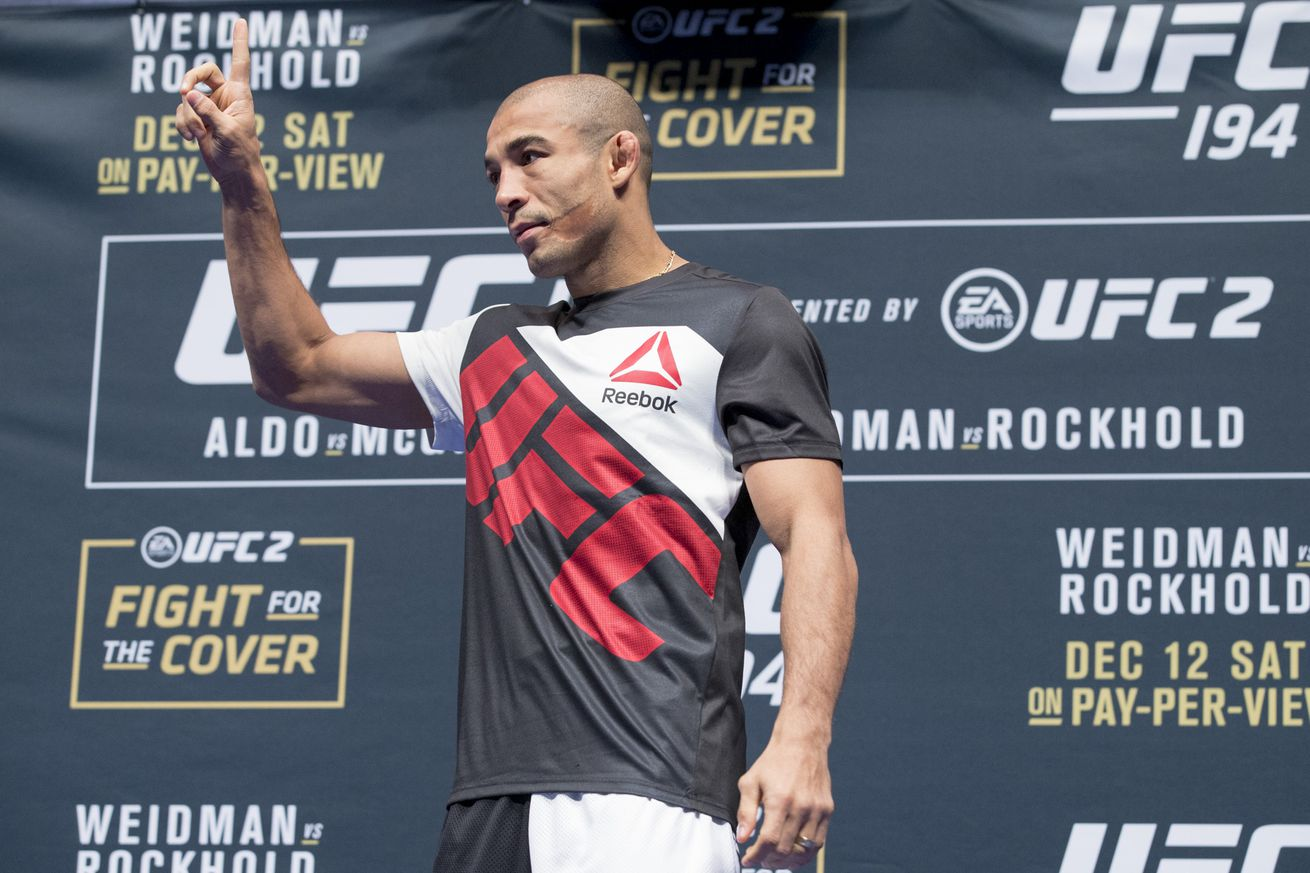 Andre Pederneiras says he doesn't think Conor McGregor has confidence in rematch against Jose Aldo