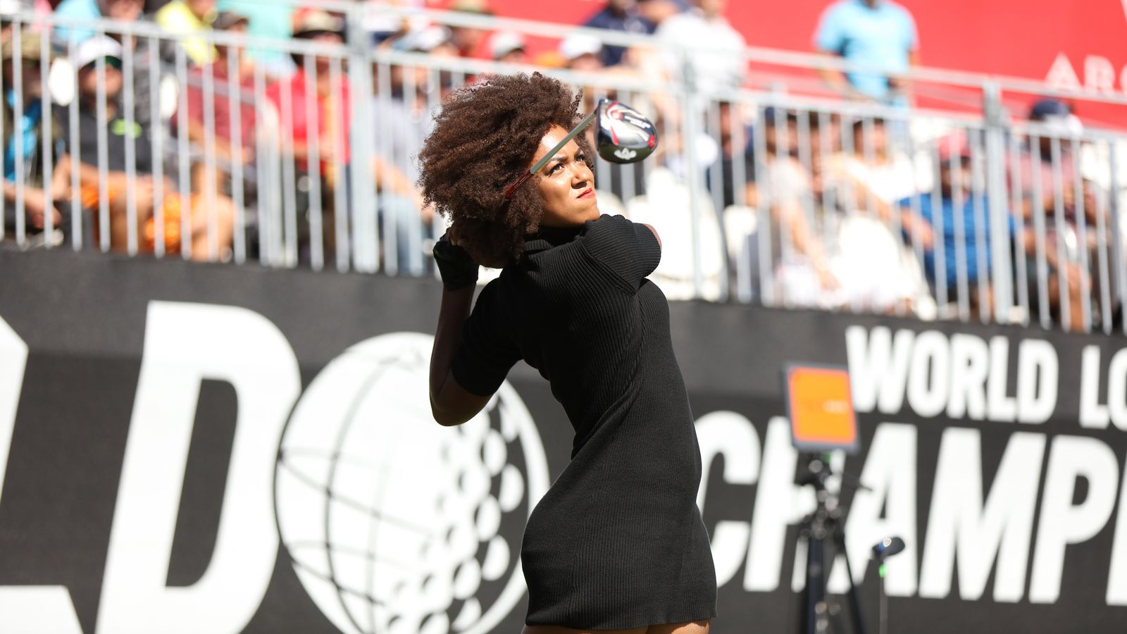 The Big Hitters Of The World Long Drive Championship Are