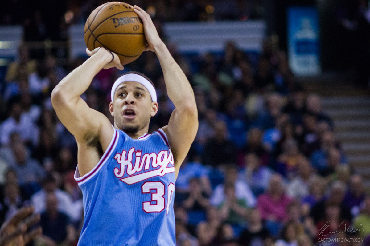 kings rescind qualifying offer to seth curry making him an kimani okearah