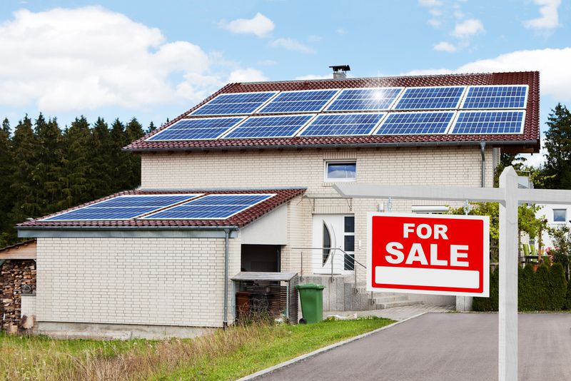 solar house for sale