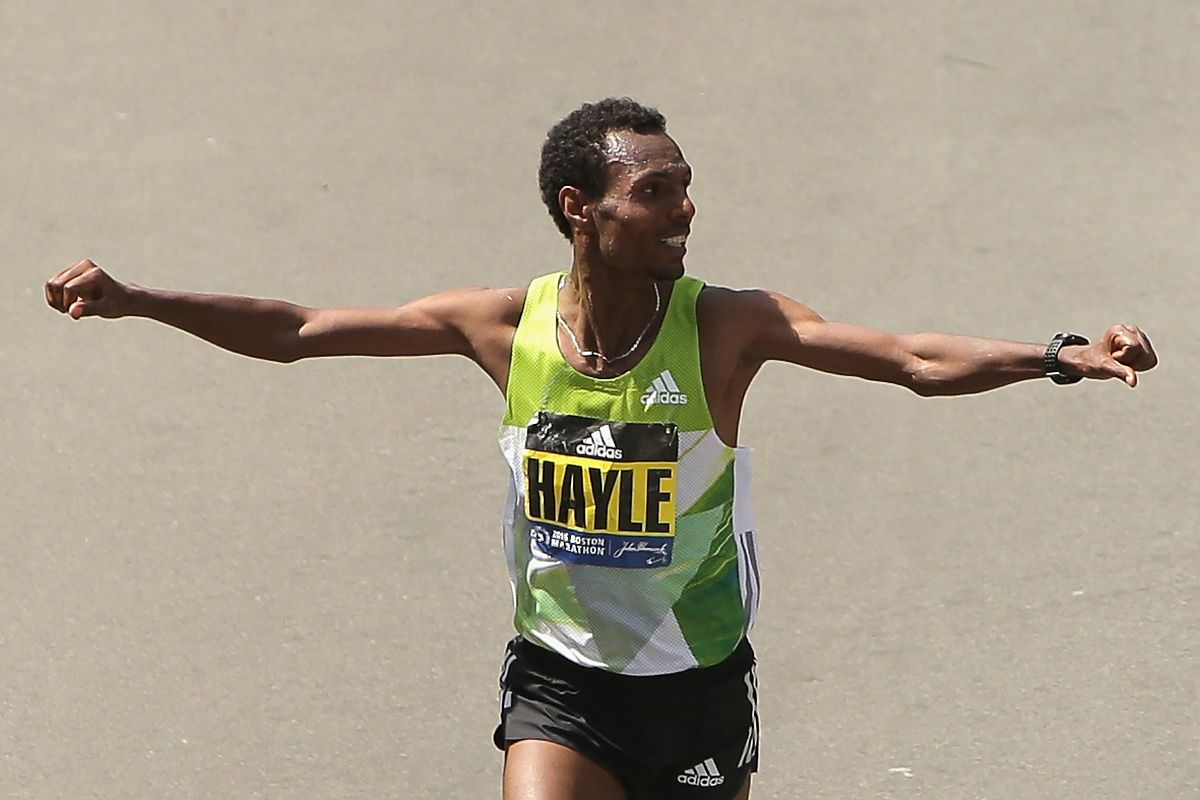 Ethiopia's champions in Boston to defend marathon titles