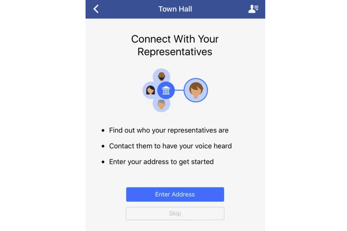 Facebook Just Made Contacting Your Representatives A Snap