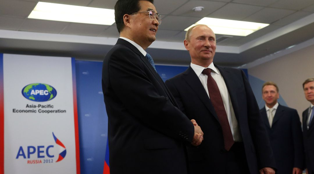 Deal To Sell Natural Gas To China