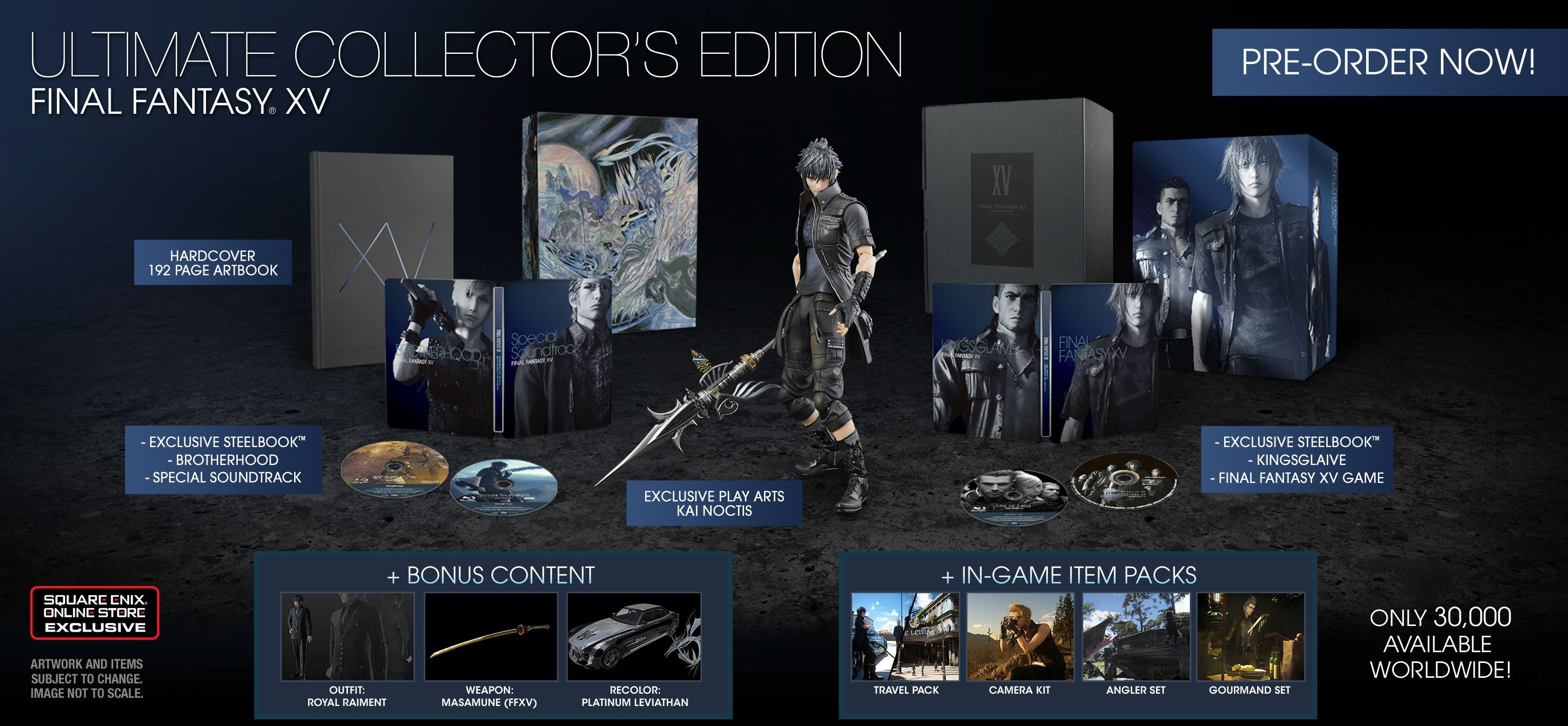Final Fantasy 15 Ultimate Collectors Edition
