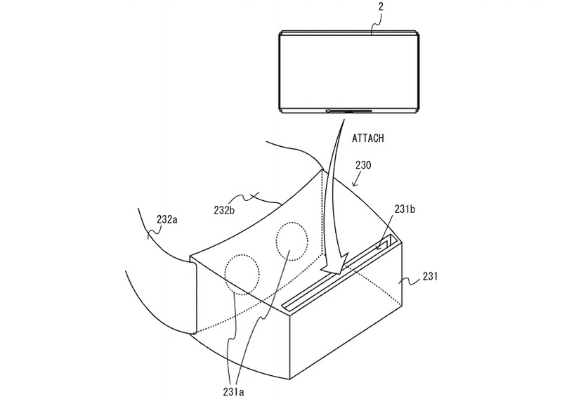 Nintendo Switch VR patent