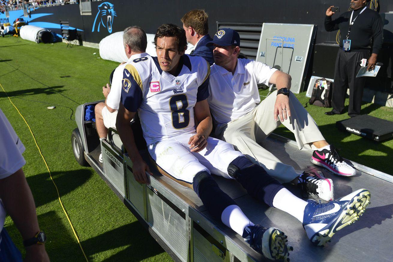sam bradford injury report