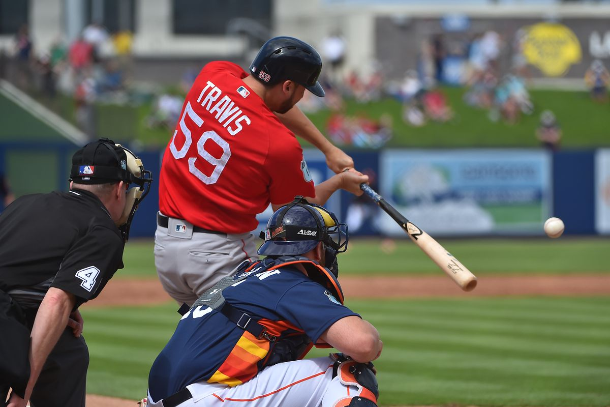 1B prospect Travis gets called up by Red Sox