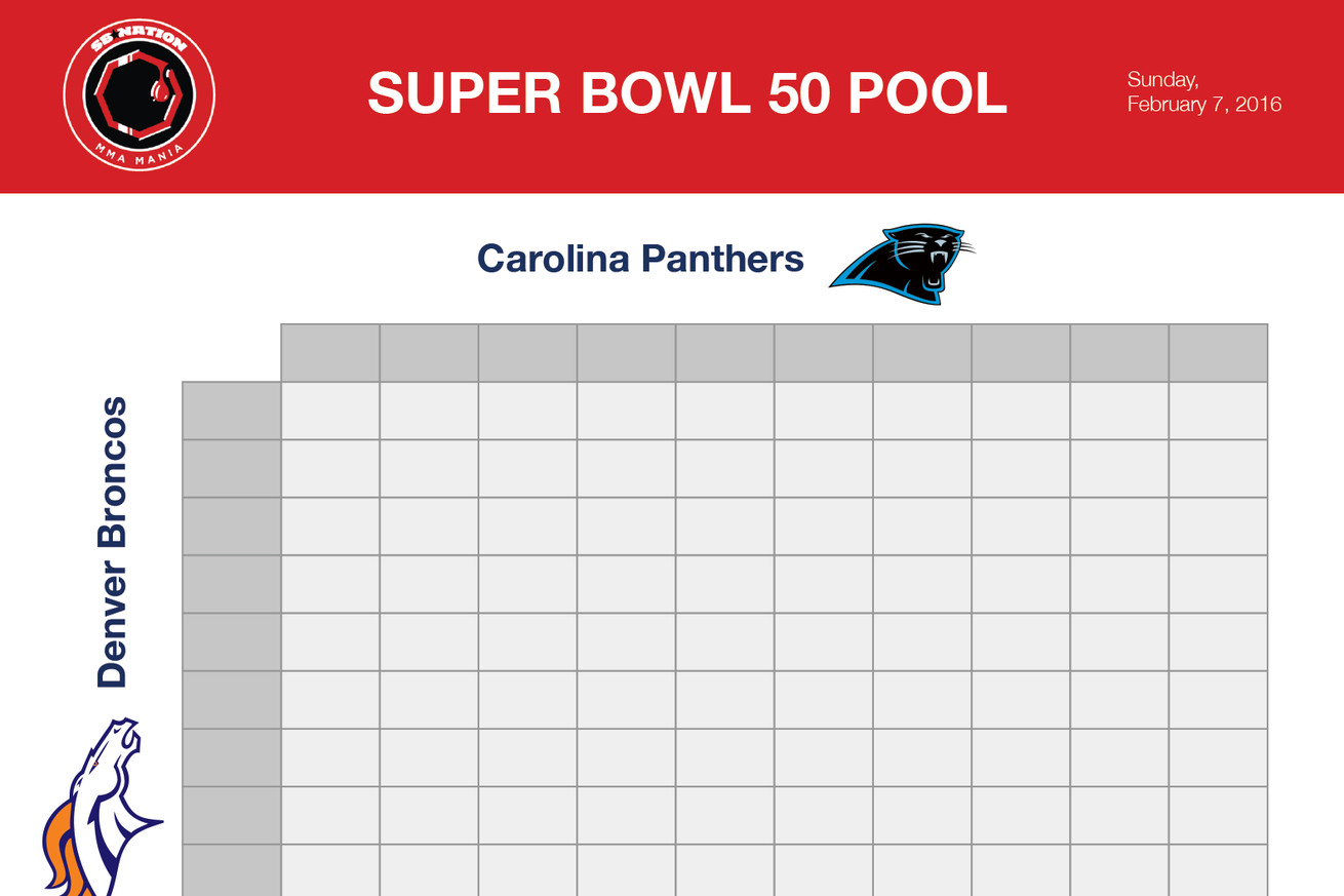 free super bowl pool
