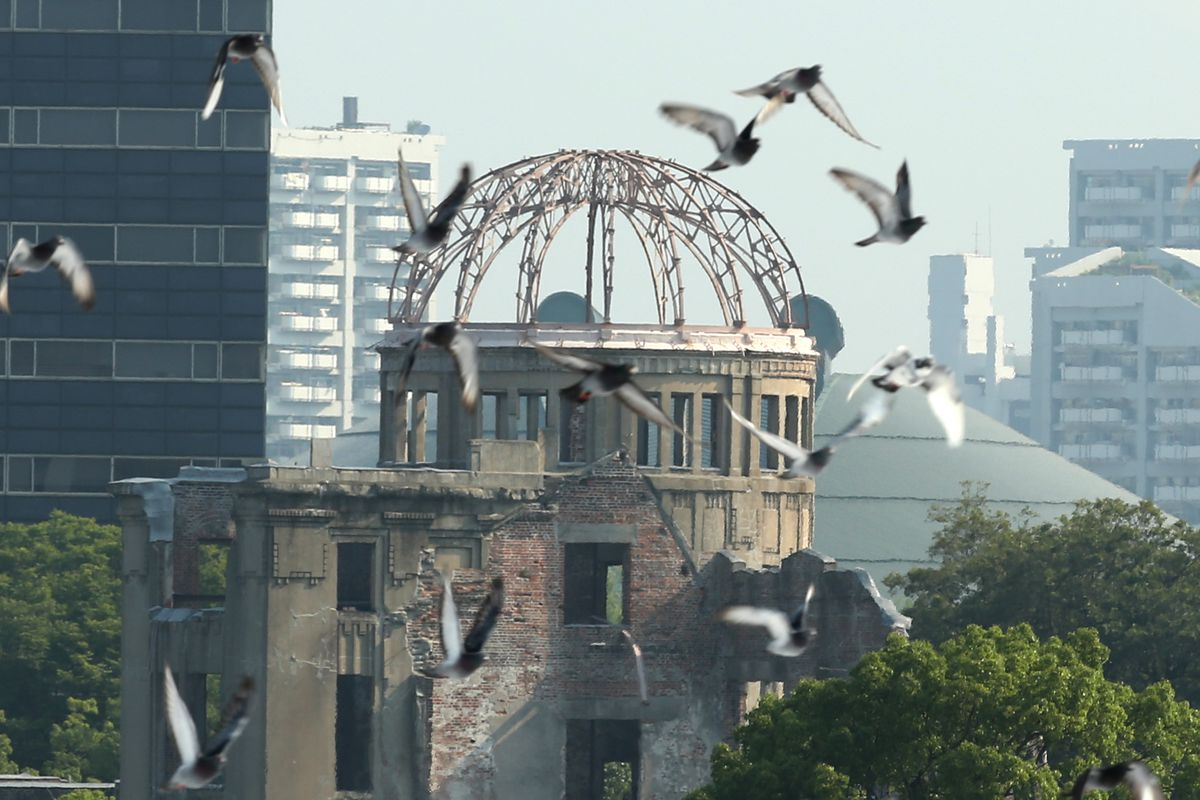 the new yorker s classic hiroshima issue years after the buddhika weerasinghe getty images