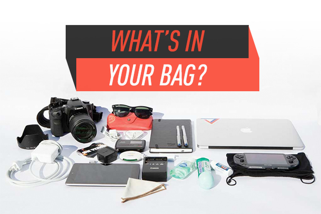 What's in your bag, Verge Readers?