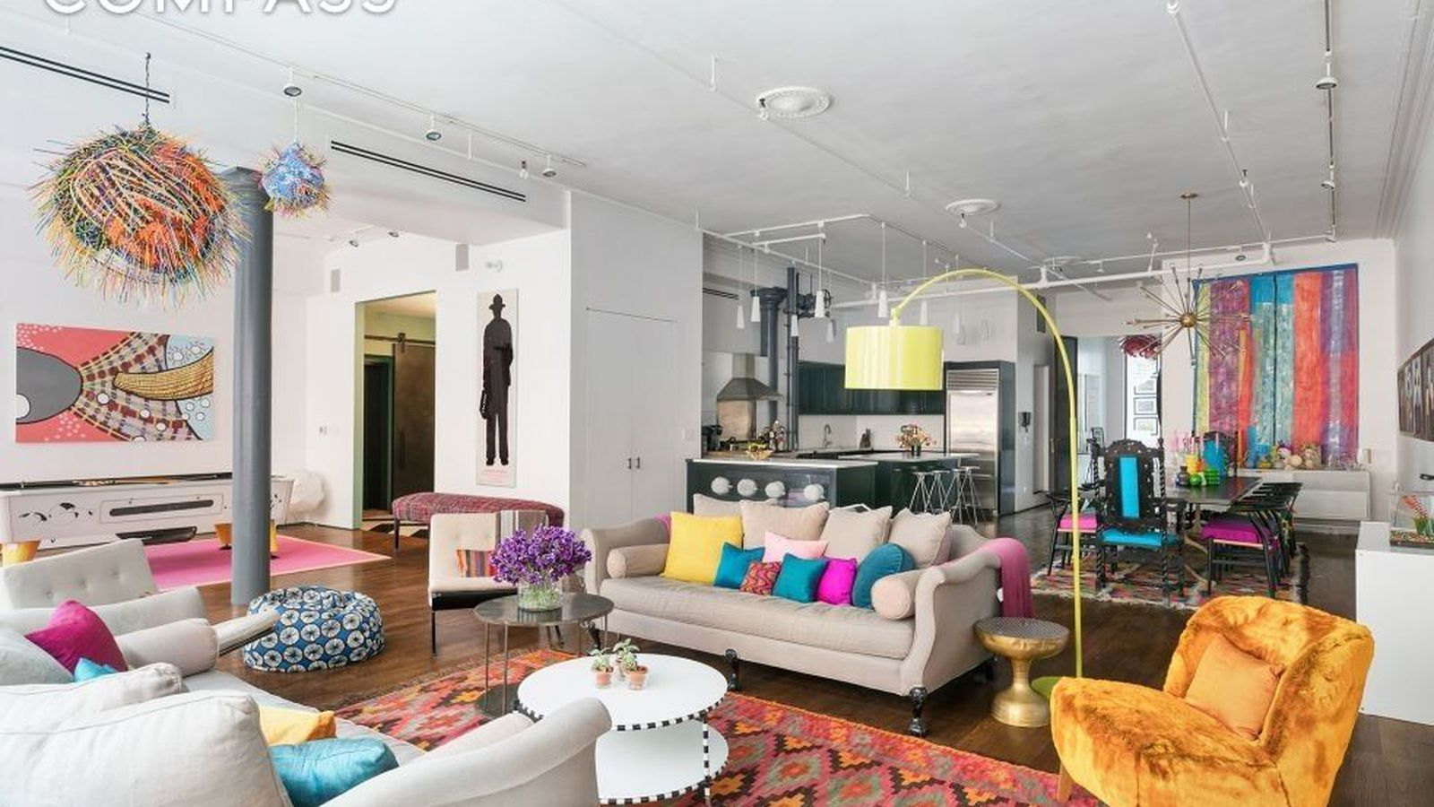 Mod Soho Loft Once Owned By Whoopi Goldberg Wants 7 5m