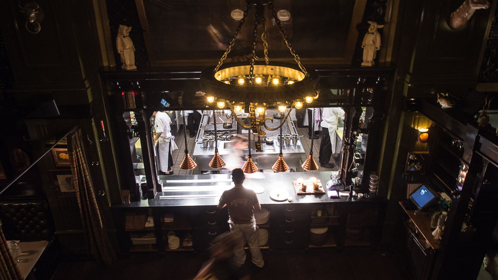 The Breslin Bar And Dining Room Review The Breslin April Bloomfield39s Monster Meatery Eater Ny