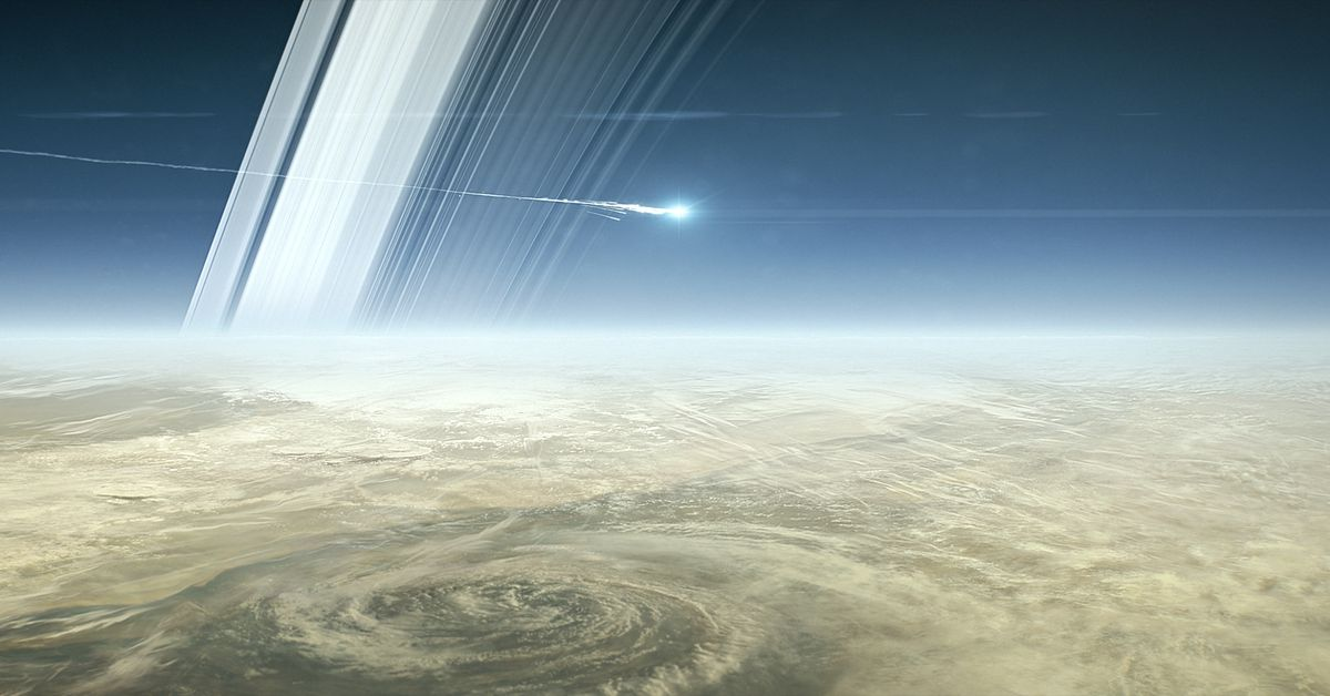 Why NASA is crashing the $4 billion Cassini spacecraft into Saturn