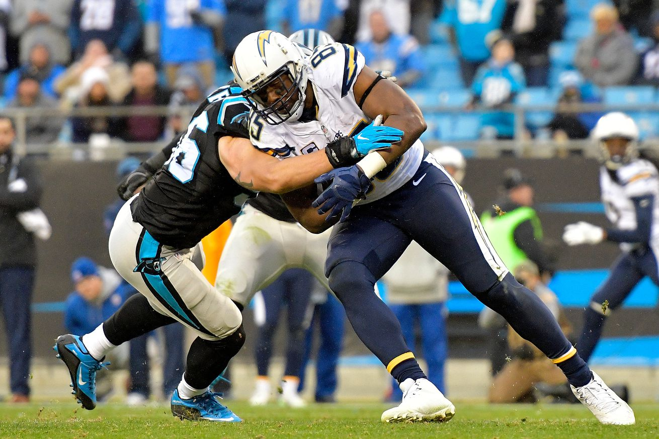 Could LB AJ Klein remain in the NFC South?