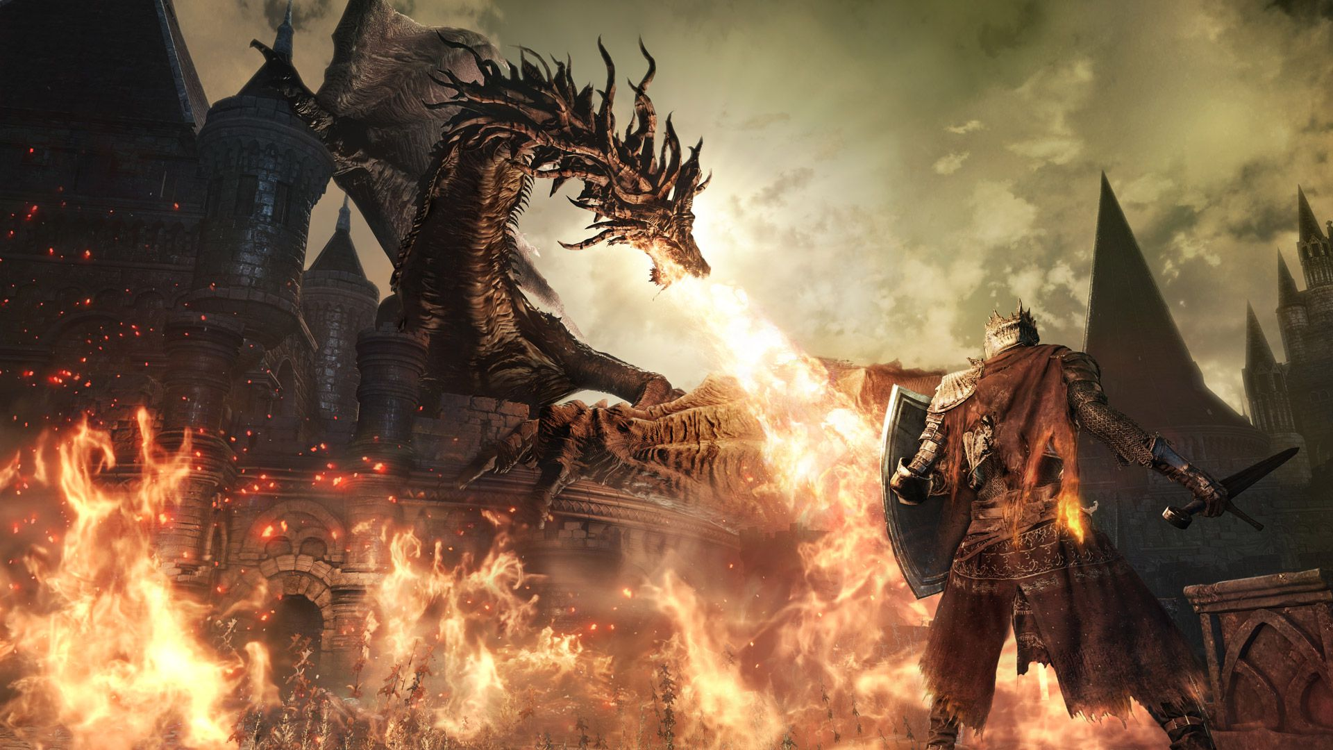 Dark Souls 3 (Stress Test) - Прохождение с UselessMouth