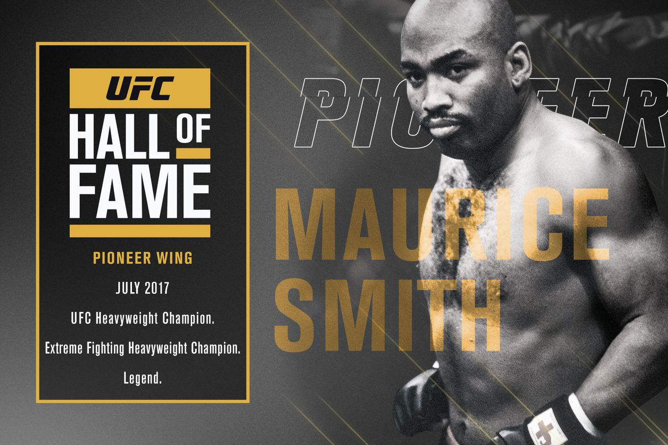 Former UFC Heavyweight champion Maurice Smith to be inducted to 2017 Hall of Fame