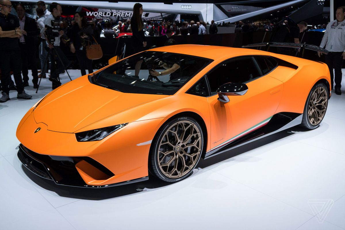 Huracan Performante In Orange Matt Thoughts