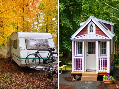 Tiny houses vs. RVs: Which one should you buy""