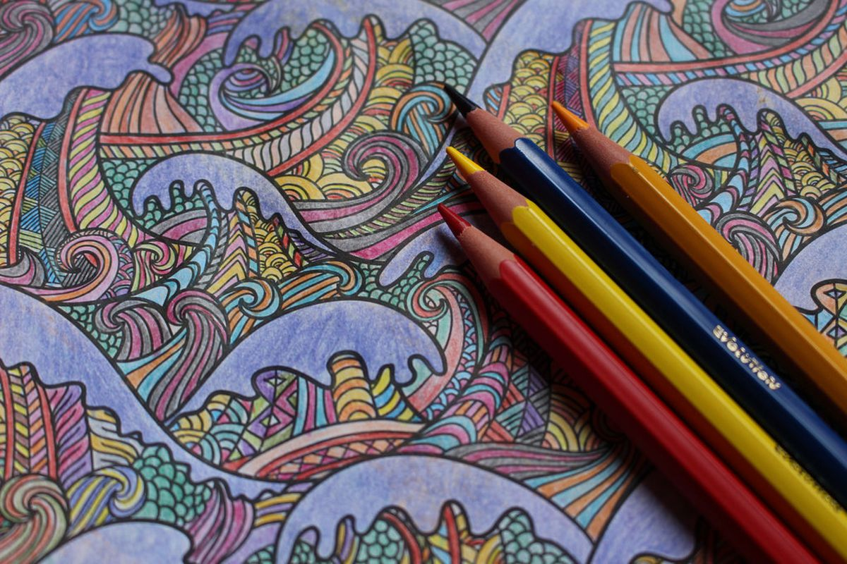 Falling Coloring Book Sales Are Hurting Bookstores