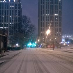 West Peachtree Street became a pedestrian paradise.