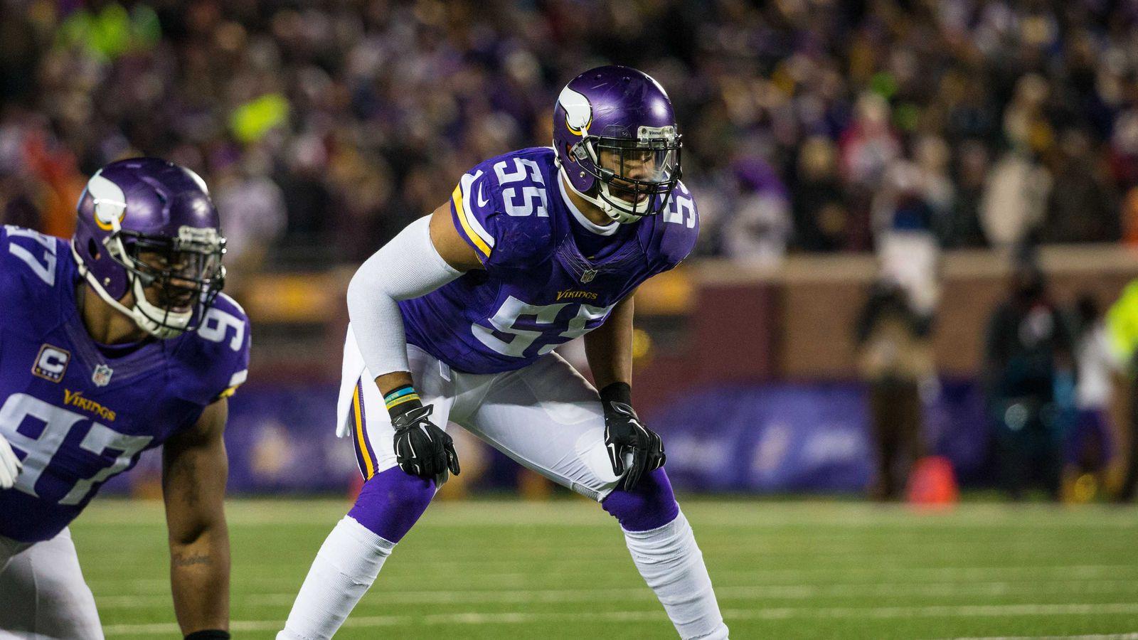 nfl Minnesota Vikings Audie Cole LIMITED Jerseys