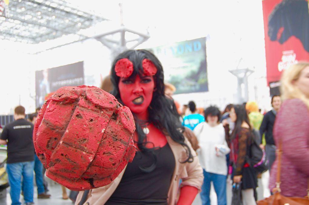 Sam Mchale, Female Hellboy