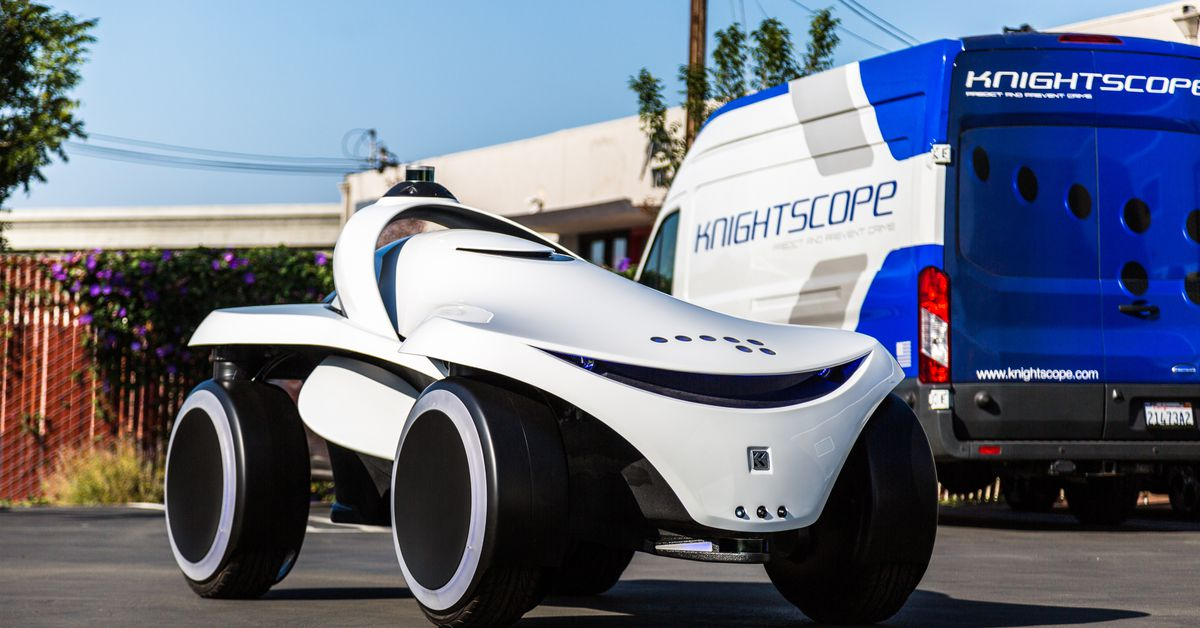 Robot Security Guard Maker Knightscope Shows Off New Multi