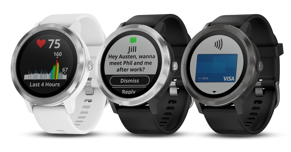 Garmin takes aim at Apple Watch and Fitbit with new Vivoactive 3