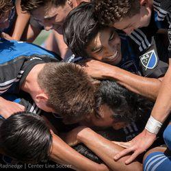 Quakes Academy U16 Soccer.