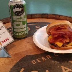 "NEW FOOD: The ""5-4-3 = 2"" burger."