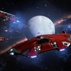 Key art for the new squadron system coming in 2018.