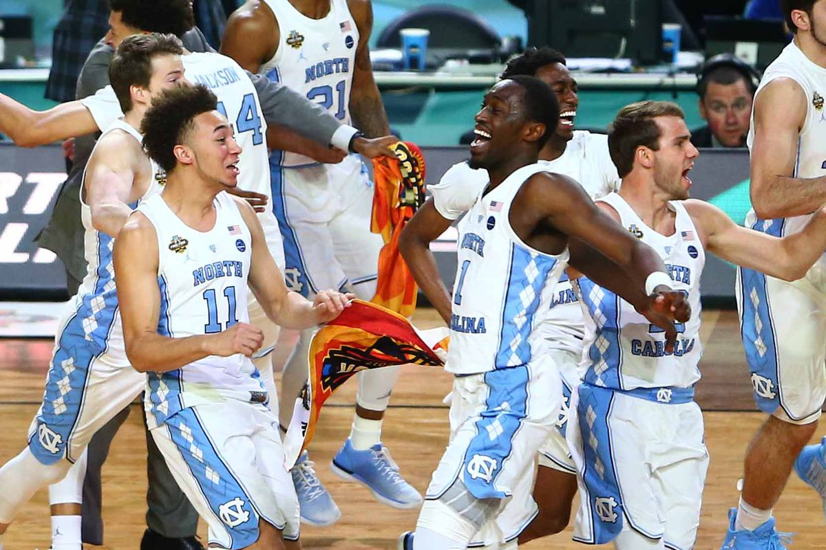 March Madness: North Carolina narrowly beats formidable Gonzaga to win NCAA championship
